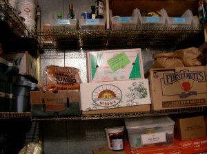 Organic food at Natural Gourmet Institute