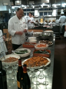 Chef Rich Anticipating a Great Local, Seasonal and Organic Meal