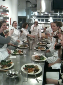 Chef's Training Program Students Raise a Toast to the Meal